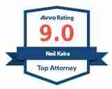 Top Attorney Neil Kalra Avvo Badge